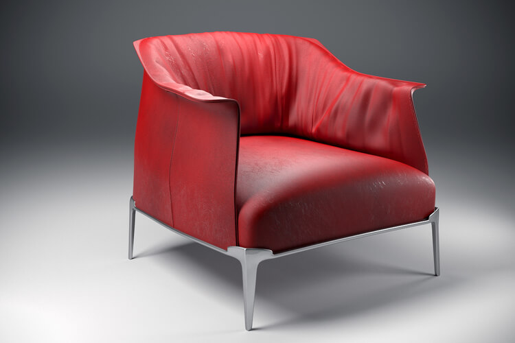 Archibald armchair – Aunar 3d