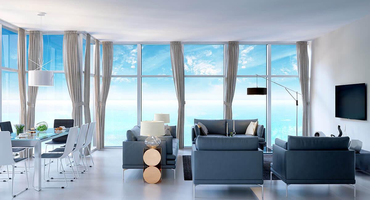 Kuwait living room interior 3d rendering