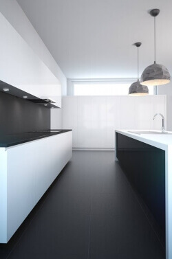 Kitchen interior 3d visualization