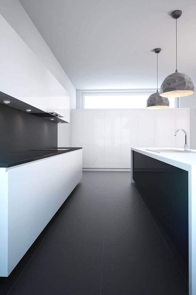 Kitchen interior 3d visualization