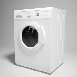 washing machine 3d modeling