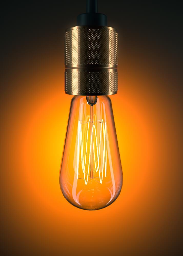 teardrop bulb 3d model