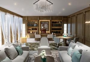 Interior Office 3d visualisation