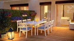 terrace evening