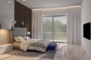 Modern house interior visualization