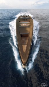150m Super Motor Yacht 3d renders for http://www.sea-voyager.net/