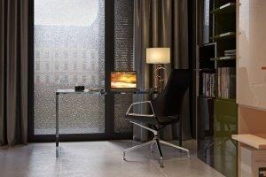 Rainy Interior rendering